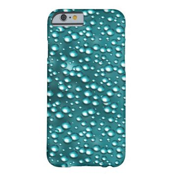 Turquoise Water Drops iPhone 6 Case