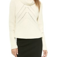 Cece Funnel Neck Pullover
