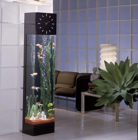 Cool Clock Fish Tank - Opulentitems.com