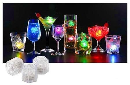 LED Ice Cubes Unique Wedding Party Gifts - Opulentitems.com