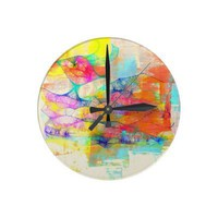Free as a Bird Wall Clock from Zazzle.com