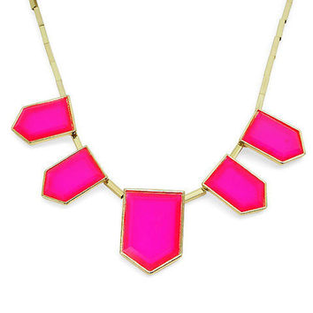 Pree Brulee - Hot Pink Jaipur Necklace