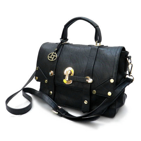 Pree Brulee - Lady Cambridge Satchel - Black