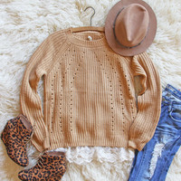 The Sugar Pine Lace Sweater