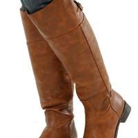 In Too Deep Boots: Brown