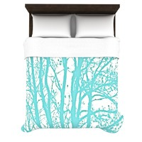 *** MINT TREES *** Duvet Cover for your perfect bedroom! by Monika Strigel