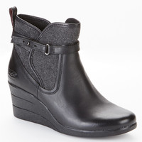 UGG Australia Emalie Leather Booties Shoes 1005286 at BareNecessities.com