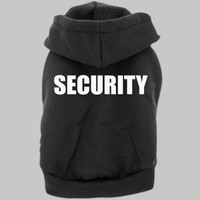 Security Dog Hoody || Funny Dog Sweater || Doggietshirts.com