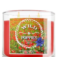 3-Wick Candle Wild Poppies