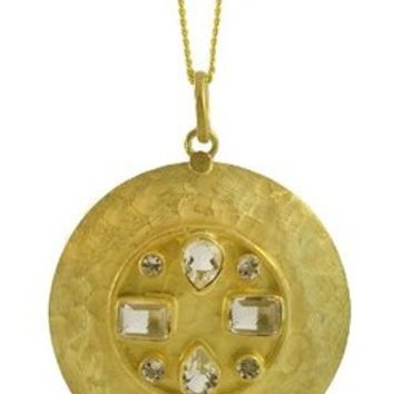 SKU Jewelry Gold Plated Necklace and Pendant