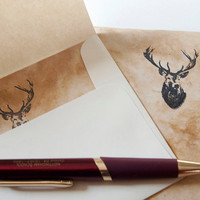 Hi Deer stationery set eco-friendly buck letter writing stationary