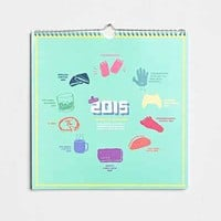 UO Favorite Holidays 2015 Wall Calendar - Urban Outfitters
