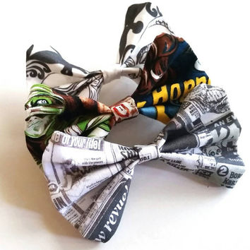 Classic Horror Hair Bow Set