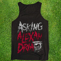 Asking Alexandria Casual Wear Sporty Cool Tank top Funny Tank Cute Direct to garment