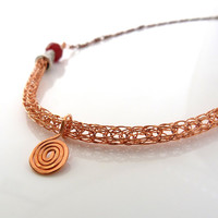 Viking Knit Necklace - The Viking Spiral