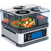 Intellisteam Food Steamer @ Sharper Image