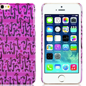 Giraffe Plastic Case for iPhone 6 Plus