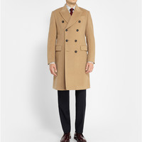 Paul Smith London - Double-Breasted Wool-Cashmere Overcoat | MR PORTER