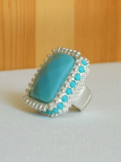 Radiant Summer Mint Ring
