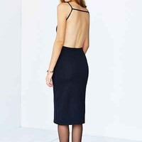 Oh My Love Text Bodycon Midi Dress - Urban Outfitters