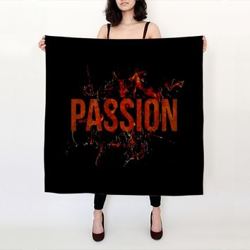 Passion and Lust Big Scarf by Daniel Ferreira-Leites (Big Square Scarf (36