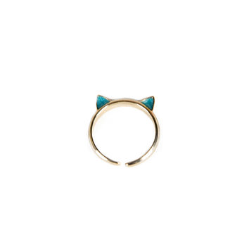 MEOW EARS KNUCKLE RING