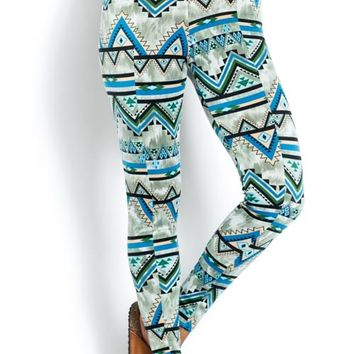 Highwaist Aztec Leggings