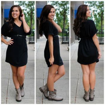 Lake Tahoe Dress - Black