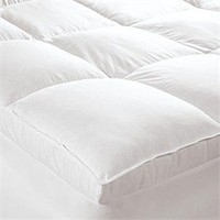 Perfect Nest Down/Feather Mattress Pad Featherbeds - Mattress Pads