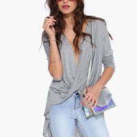 Knot Tunic Top