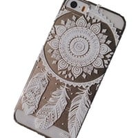Acefast INC Plastic Case Cover for Iphone 5 5s 5c Henna Ojibwe Dream Catcher Ethnic Tribal (For iPhone 5 5S)