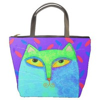 Small Handbag Tote Bag Printed With.. on Luulla