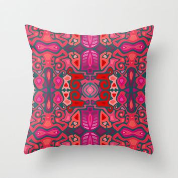 ESSENSE Throw Pillow by Musings | Society6