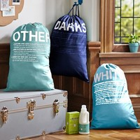 Easy Sort Laundry Bags S/3, Cool