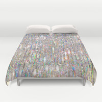 To Love Beauty Is To See Light (Crystal Prism Abstract) Duvet Cover by soaring anchor designs ⚓ | Society6