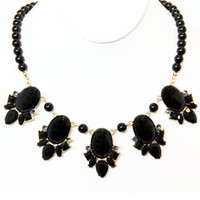 Morticia Bead Necklace Set