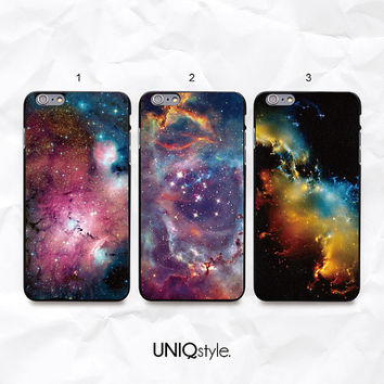 "nebula space iPhone 6 phone case - Galaxy dark night sky phone cover for iPhone 6 4.7"" / iPhone 6 Plus 5.5"" - i20"