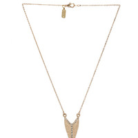 Mohawk Necklace in Gold