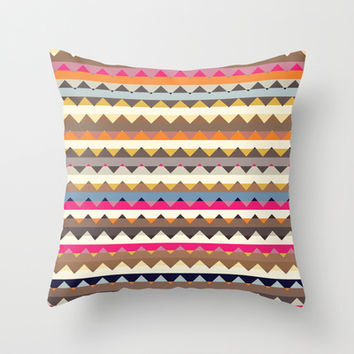Mix #593 Throw Pillow by Ornaart | Society6