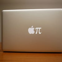 Apple Pi Macbook Decal