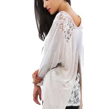Papaya Clothing Online :: LACY KNIT TOP