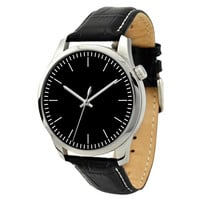 Men's Minimalist Watch Black
