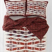 4040 Locust Asher Ikat Duvet Cover - Urban Outfitters
