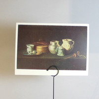 Vintage Zurbaran (Still Life with a Chocolate-mill) Print - 1966, 1980