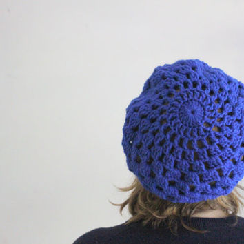 Boho Beanie, Crochet Beanie, Colorful Hat, Crochet Hat, Gifts for Women, Gifts for Teens, Starburst Beanie