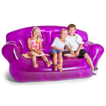 Smoke Black Inflatable Bubble Couch