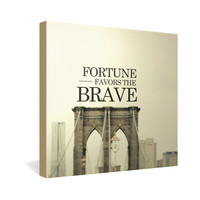 Chelsea Victoria Brooklyn Brave Gallery Wrapped Canvas