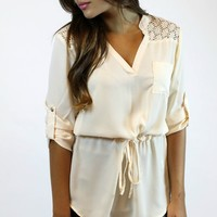 Totally Taupe Tunic | YA Los Angeles
