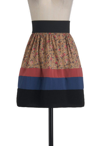 Not What It Seamstress Skirt | Mod Retro Vintage Skirts | ModCloth.com