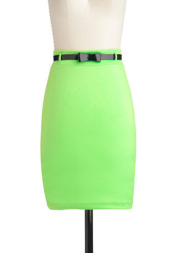 Limeade for You Skirt | Mod Retro Vintage Skirts | ModCloth.com